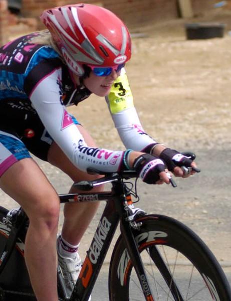 Hannah Barnes was the fastest junior lady