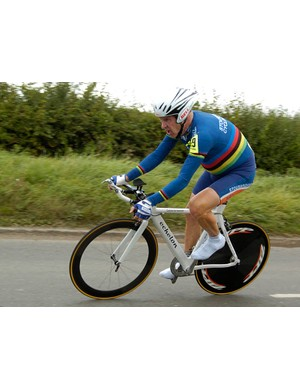 World masters champion Roger Iddles easily won his category