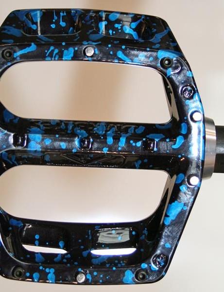 DMR Reptoid wearing new 2010 DMR pedals