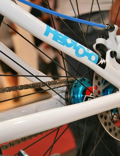 DMR Reptoid's rear cable disc brake