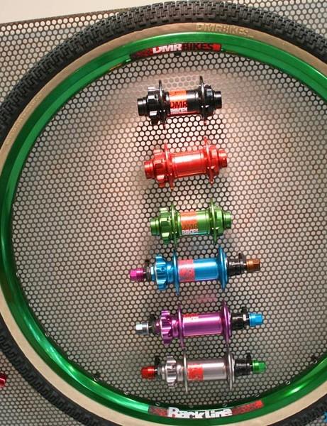 DMR's new green rim