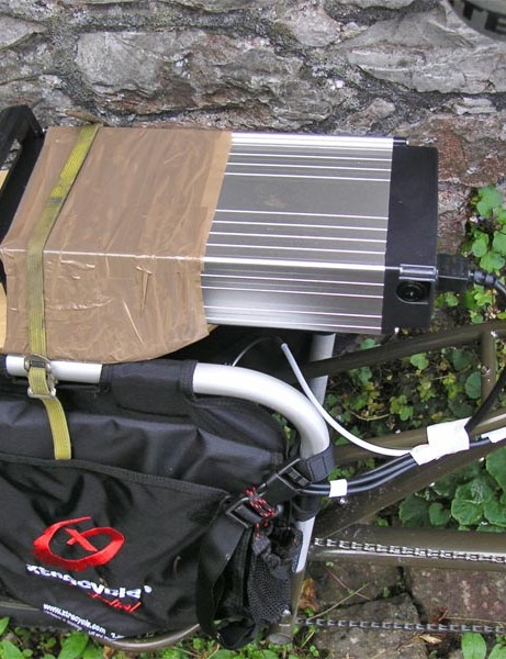 ...and a rear rack battery