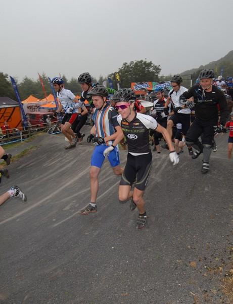 Running for the start