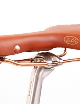 The US$159 Zimbale leather saddle.