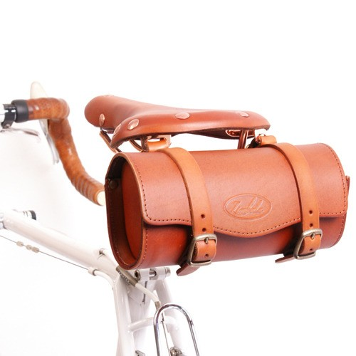 The US$79 Zimbale leather saddle bag pouch.
