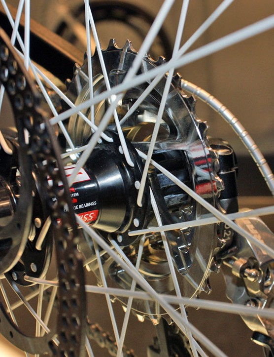 The machined aluminium Recon cassette certainly helps the Projekt S5 hit its impressive weight.