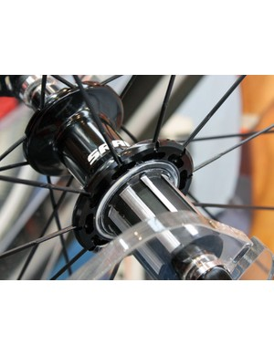The Sprint and Race-level rear hubs feature more aggressive milling to shave a few grams.