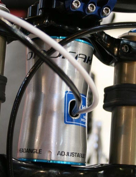 Summum headtube angle can be adjusted (61-65 degrees)