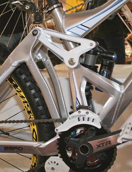 Summum suspension setup at the rear