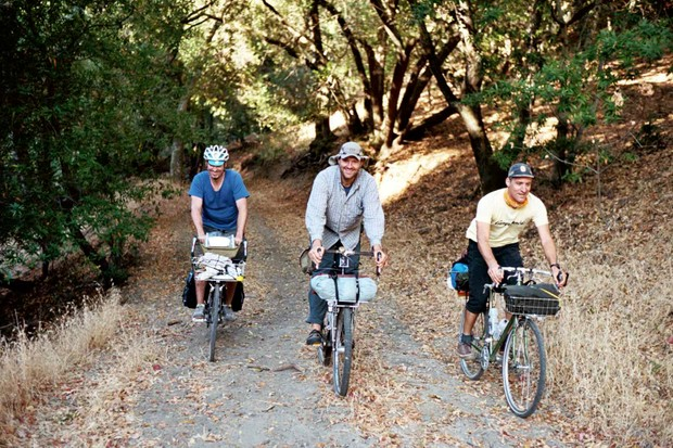 The Rivendell sub 24-hour bike camp crew.