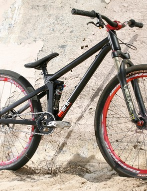 Black Market Bike's Killswitch offers 4 inches of rear travel.