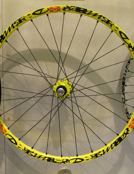 Startlingly light new Deemax Ultimate downhill wheel