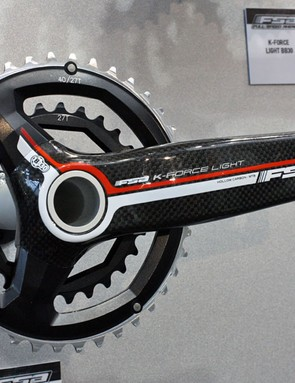 FSA's new '386' dedicated two-ring mountain bike cranksets feature a new three-bolt 86mm BCD chainring mounting pattern.