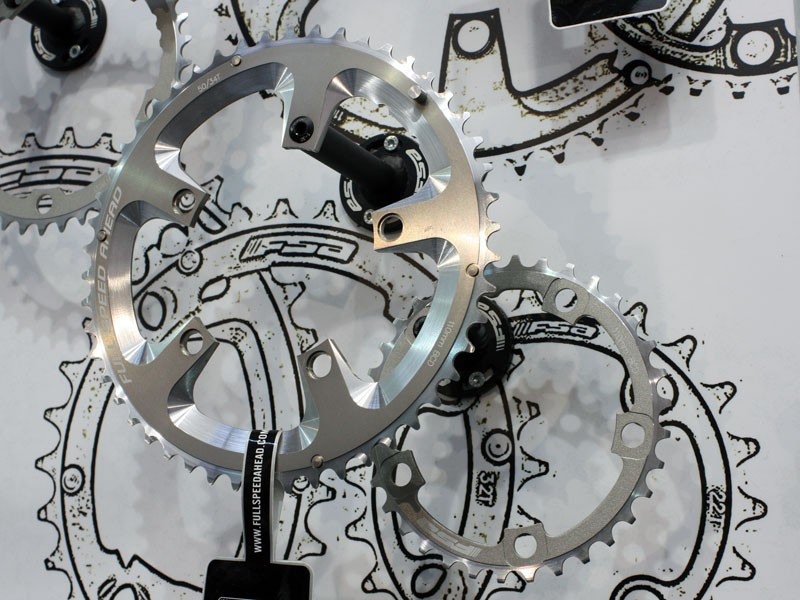 FSA has revised its chainring range for smoother shifts - and full compatibility with Campagnolo 11-spd cranksets.