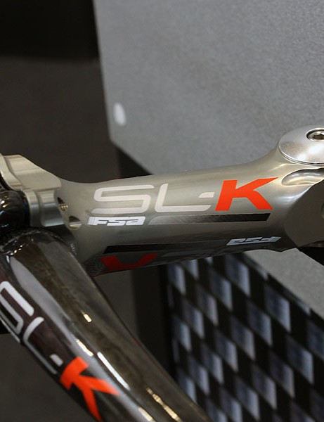 The FSA SL-K stem will be offered in this trick anodised finish.