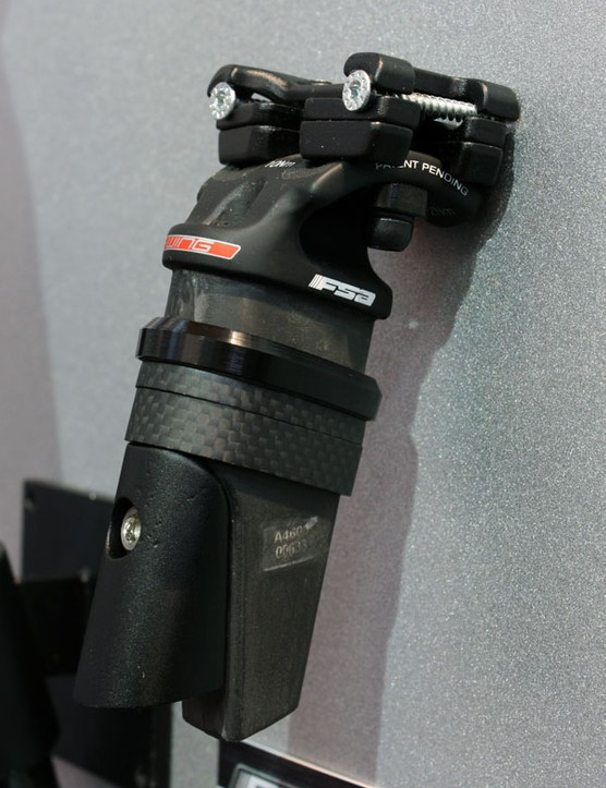 FSA is continuing to champion the idea of a standardised integrated seatmast head design, including this aero option…