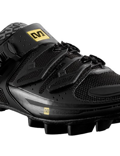 Fury mountain bike shoe is now available in black
