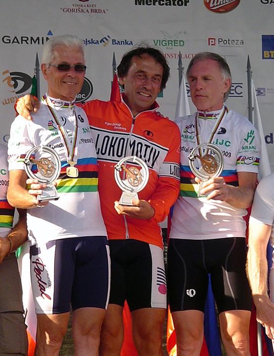 Team champions Karl Rupp, Karel Verdonschot and Gerhard Hack