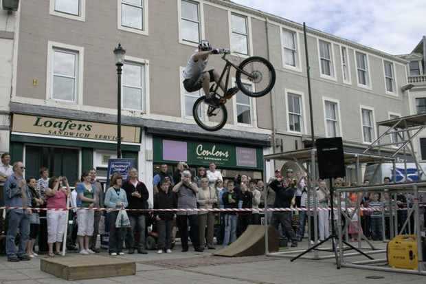 Danny MacAskill's still not come back to earth