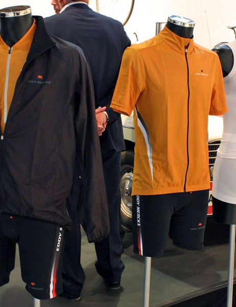 Eddy Merckx's clothing line features decidedly understated colours and styles.