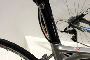The 2010 SL01 also gets BMC's clever Angle Lock seatpost design for easier adjustments and a slick appearance.