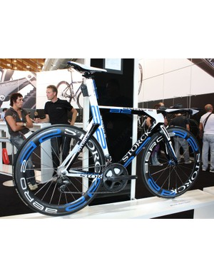 Storck's new Aero 2 was more of the more stunning time trial machines at this year's Eurobike show.
