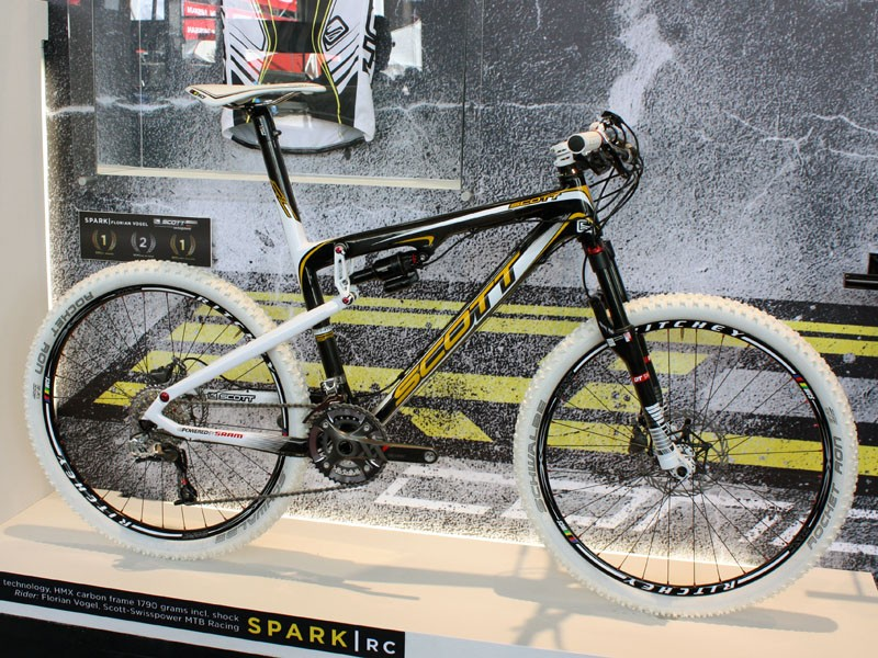 Scott's top-end Spark RC frame is mostly carryover for 2010…