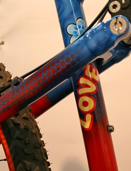 Rose's Crystal Stoke was painted especially for the Eurobike 2009 Trade Show
