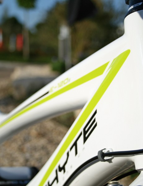 Whyte have some exciting new additions for 2010, like this 'entry-level' full-susser