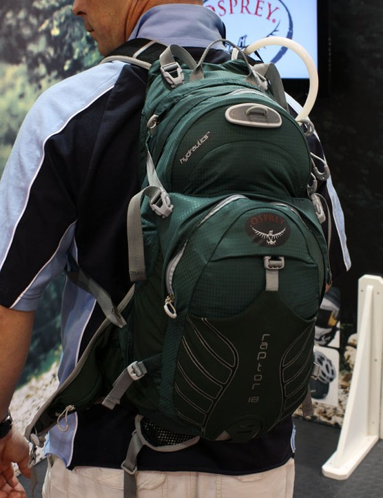 Long-time pack maker Osprey enters the hydration pack market with an impressive - and distinctly business-like - range for 2010. Ripstop nylon construction keeps the weight down, too.