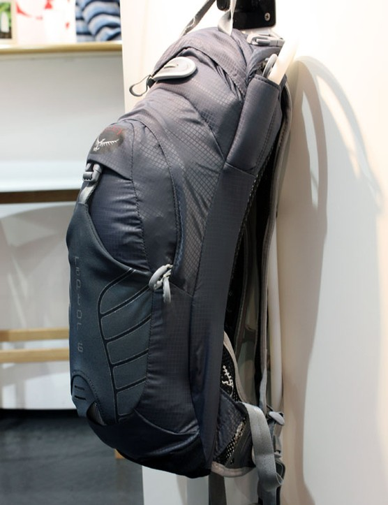 The smallest Raptor pack is the Raptor 6 with just six litres of storage capacity in a tidy package but Osprey will offer four sizes in all with up to 18 litres of room.