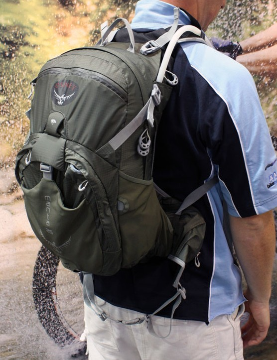 The Osprey Manta range is still well suited for mountain biking but is intended more as a general outdoor hydration pack.