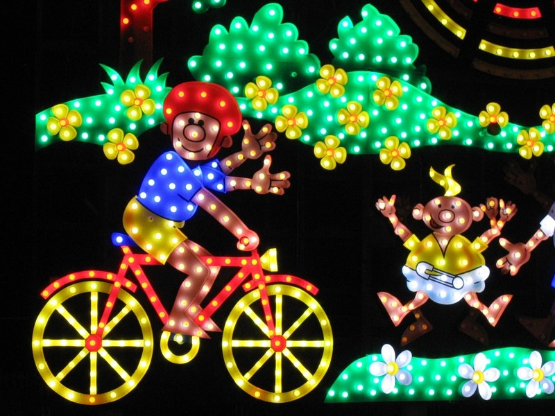Blackpool, famous for its Illuminations, is becoming more cycling-friendly