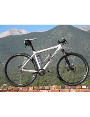 The 2010 Tomac Flint 29er, able to run as a singlespeed or fully geared.