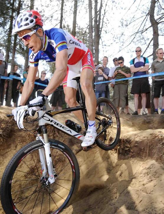 French cross country racer Julien Absalon (Orbea).