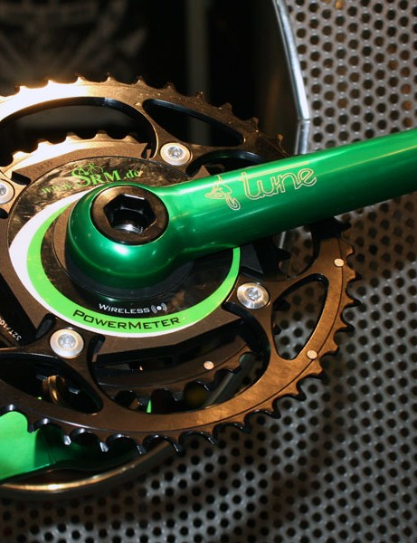 Tune will add power meter-equipped cranks for 2010 using SRM hardware.