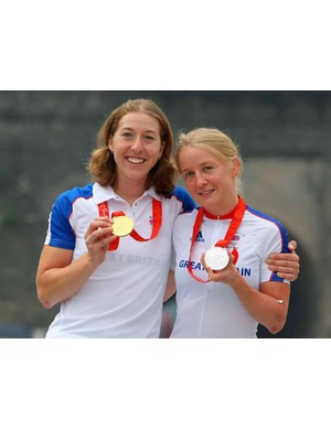 Nicole Cooke and Emma Pooley will aim to win more medals at the road world's in Mendrisio