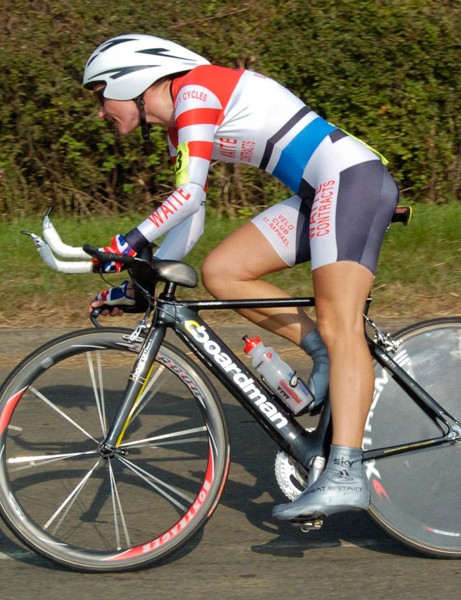 Sarah Storey won another round of the Rudy Project series, round 6 in Naseby