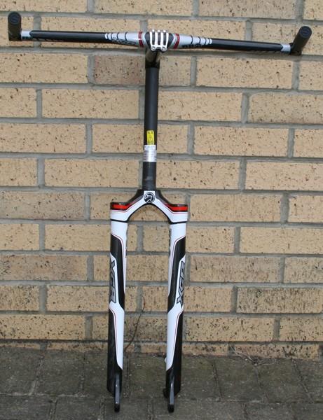 PRO XCR fork, stem, bar and bar-ends