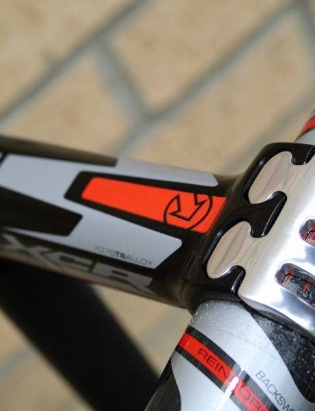 PRO XCR fork, stem and bar