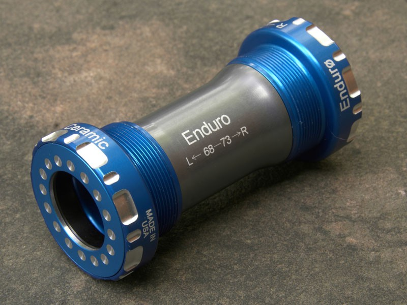 The Enduro ZERØ hybrid ceramic bottom bracket tangibly reduces drag and friction on many stock drivetrains at a reasonable cost.