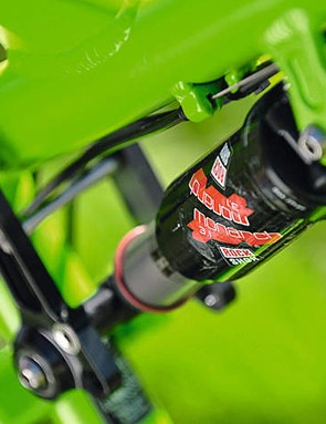 The RockShox Monarch  3.1 shock is adequate rather than outstanding