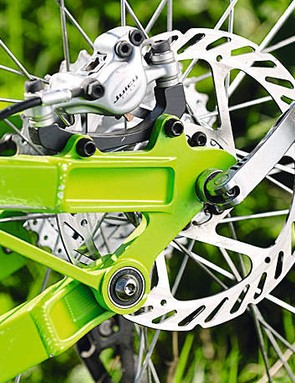 A genuine Horst link pivot gives great handling and braking