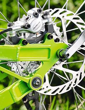 A genuine Horst link pivot gives great handling and braking
