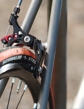 Planet X have also spiced things up with these ultra light CNC-machined and ti-enhanced brake calipers