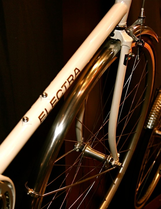 The new Ticino line mixes touches from Raleigh, Schwinn, Rene Herse and Alex Singer.