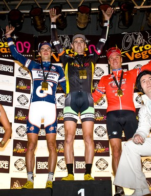 It was an all-American podium for the men, including Elvis Aaron Presley.