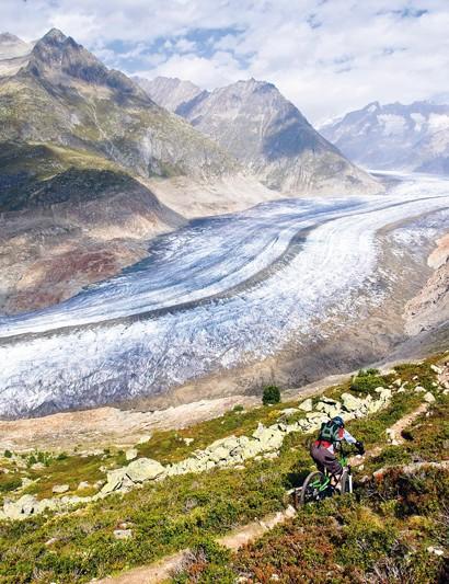 The amazing Aletsch glacier, Wallis, Rhone Valley