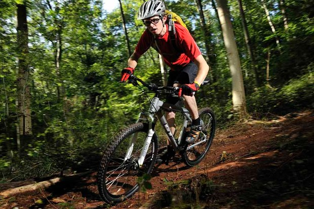 Owen Coutts on the trail