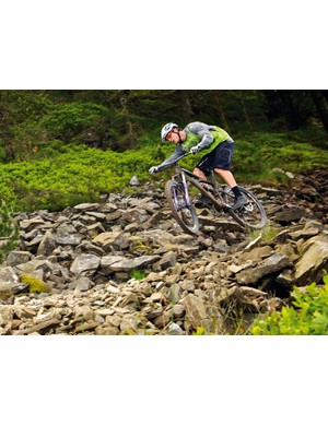 Lopes styling it up at Afan